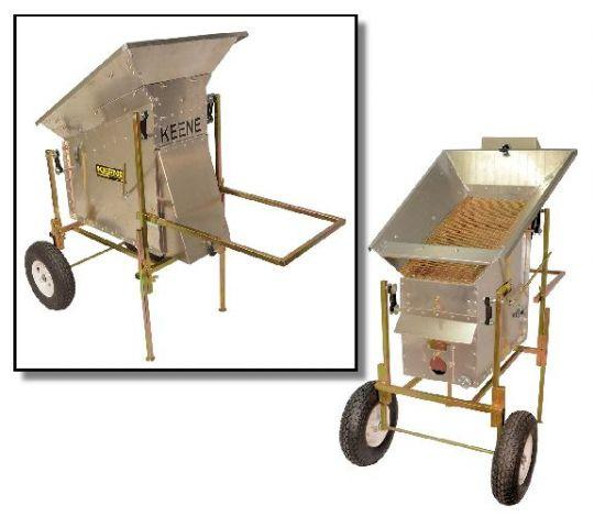 Keene Engineering - Keene Drywasher and Frame - 190 - Sunny Mountain Prospectors