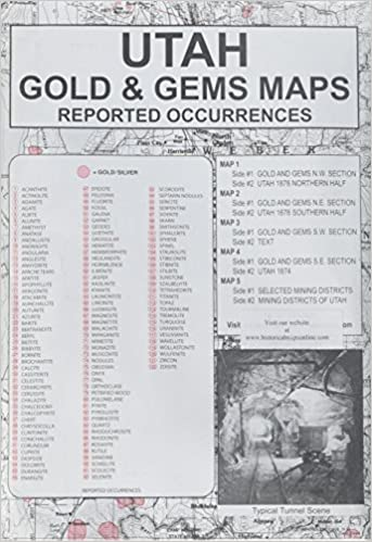 Utah Gold & Gems Maps: Reported Occurrences - Sunny Mountain Prospectors