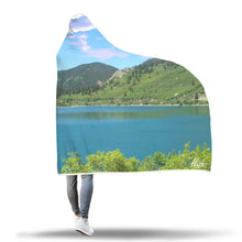 Nature - North Lake Hooded Blanket