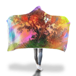 Hush Attire Beautiful Tree Hooded Blanket