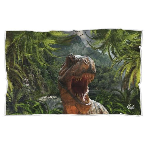 Hush Attire T-Rex Blanket