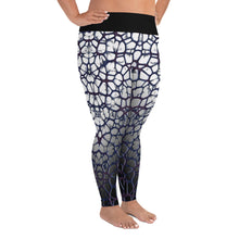 Purple Thorn Plus Size Leggings Right