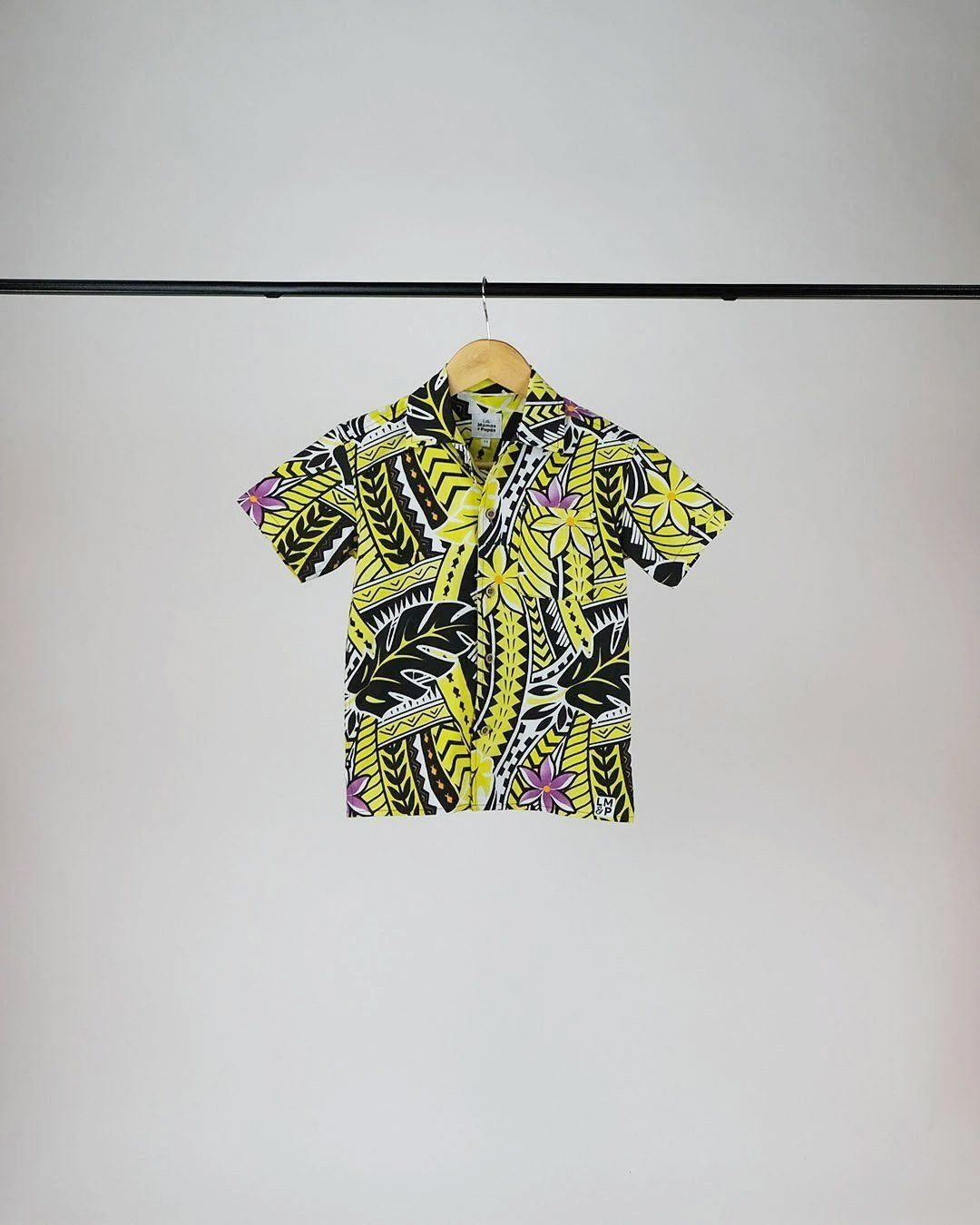 Kanoa Baby Short Sleeve Shirt - Island in The Sun