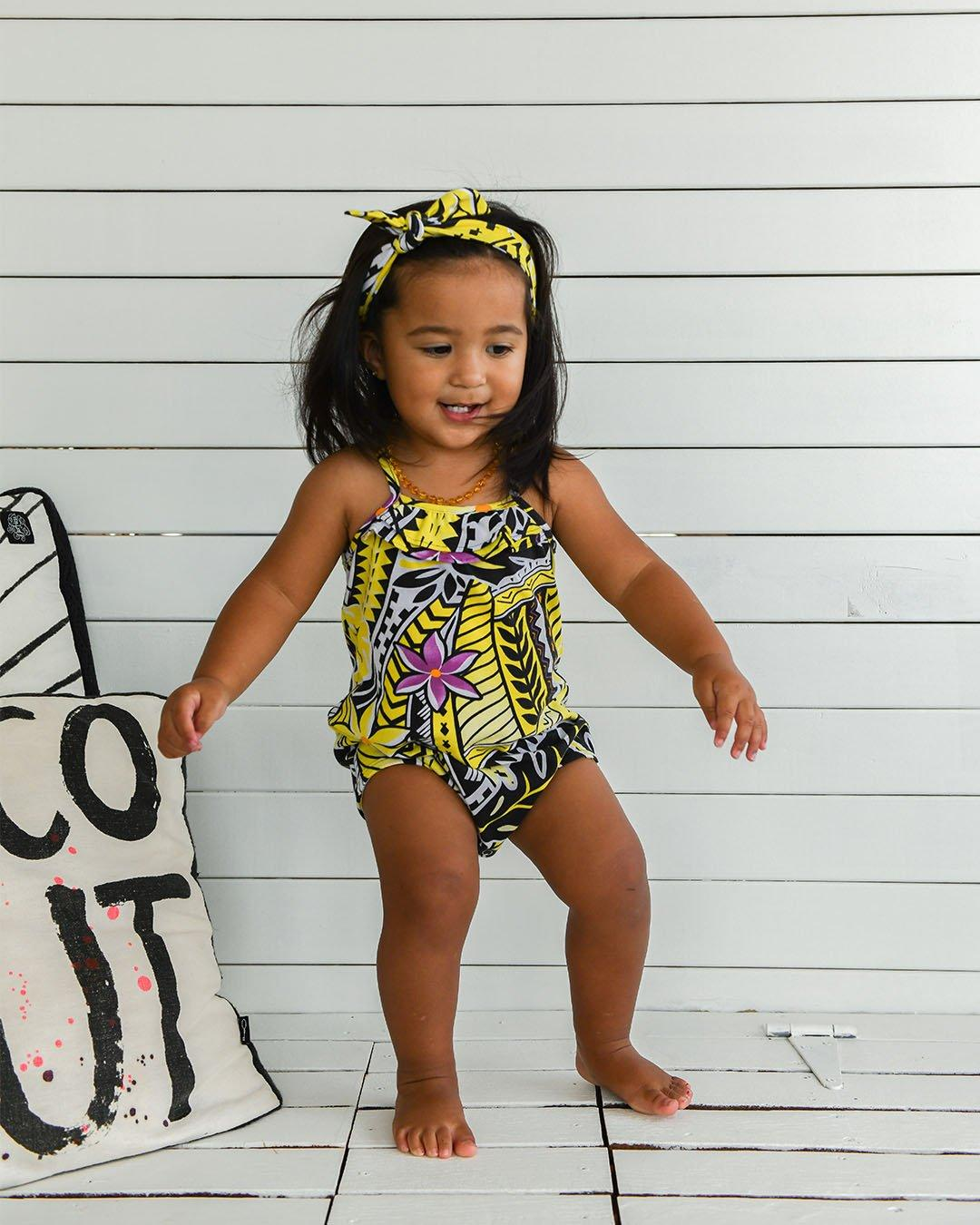 Mahana Baby Romper - Island in The Sun