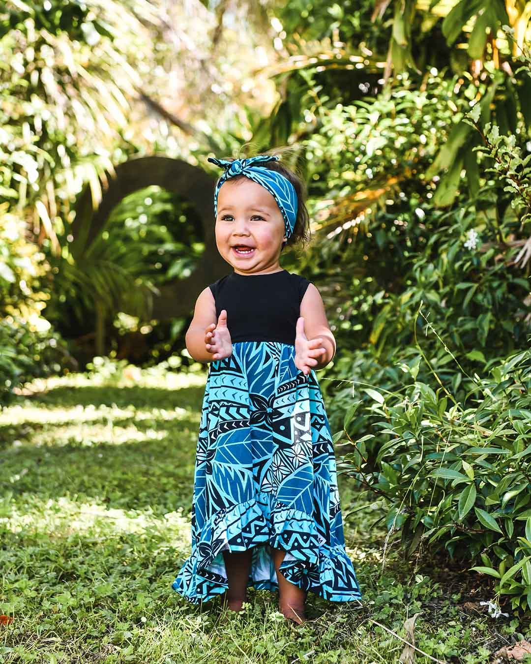 Melino Baby Summer Dress - Moana Blue