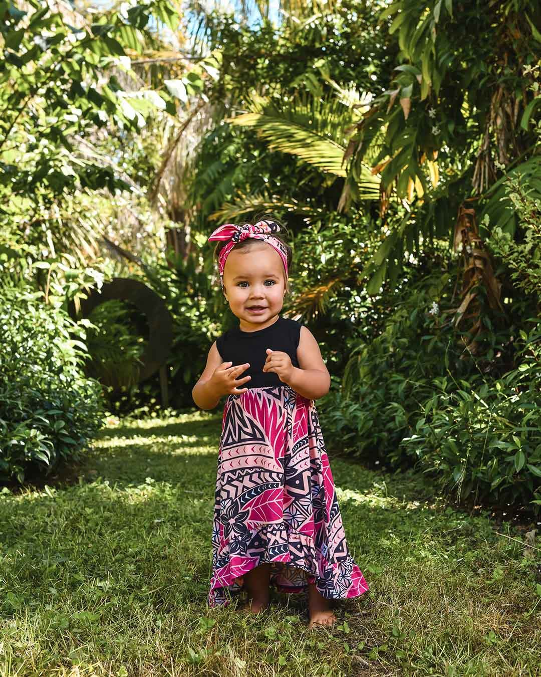 Melino Baby Summer Dress - Moana Sunset