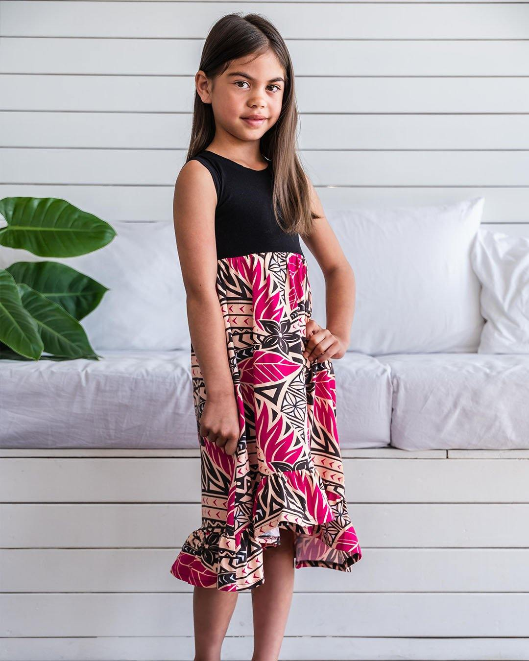 Melino Kids Summer Dress - Moana Sunset