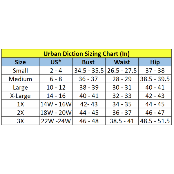 General Sizing Chart