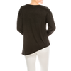 Style #2600 - Black | Wonderful And Young | Knits & Tees