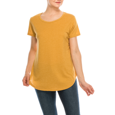 Urban Diction 3 Pack Women's Basic Solid Scoop Neck Short Sleeve T Shirts | Urban Diction | Knits & Tees