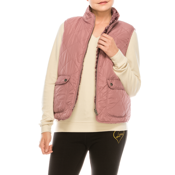Style #2151A - Blush | Wonderful And Young | Vests