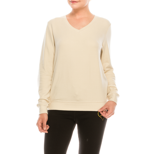 Style # 3400 - Cream | Wonderful And Young | Pullovers