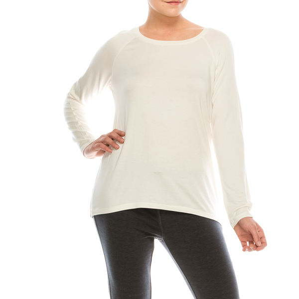 Style #2800 - Ivory | Wonderful And Young | Knits & Tees