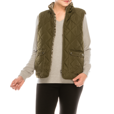 Style #2151A- Green | Wonderful And Young | Vests