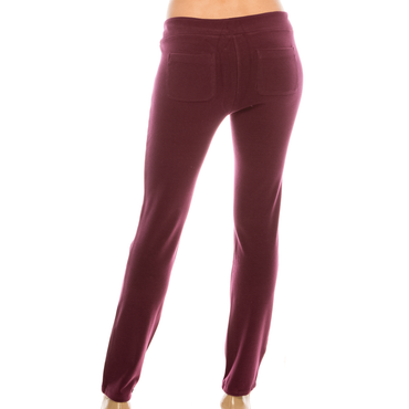 Style #3500S - Burgandy | Wonderful And Young | Joggers