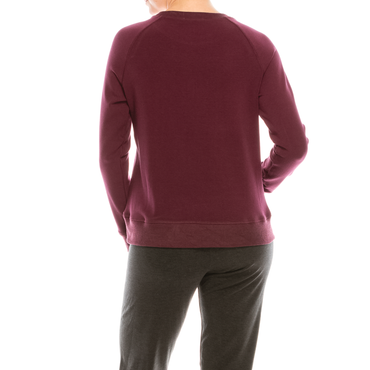 Style #3200S - Burgundy | Wonderful And Young | Pullovers
