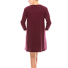 Style #3300 - Burgundy | Wonderful And Young | Dresses