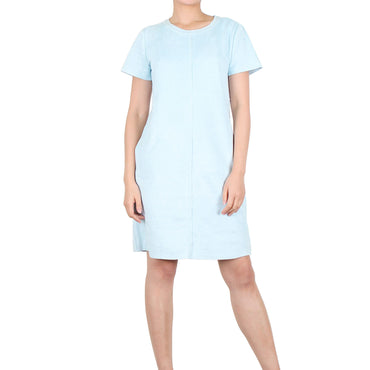 Way Beyoung Women's Sky Stretch Short Sleeve Knee High Dress | Way Beyoung | Dresses