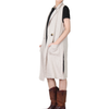 Way Beyoung Brown Collared Sleeveless One-Button W/Front Pockets Vest | Way Beyoung | Vests