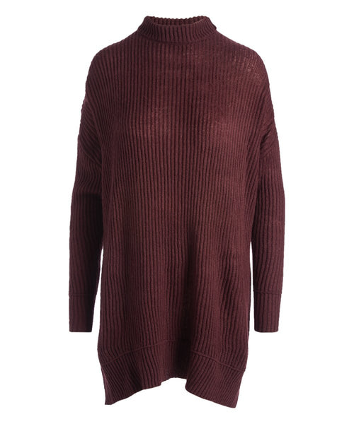 Urban Diction Purple Slouchy Turtleneck Sweater | Urban Diction | Sweater