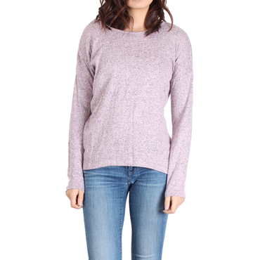 Urban Diction Pink Crisscross-Back Sweater | Urban Diction | Pullovers