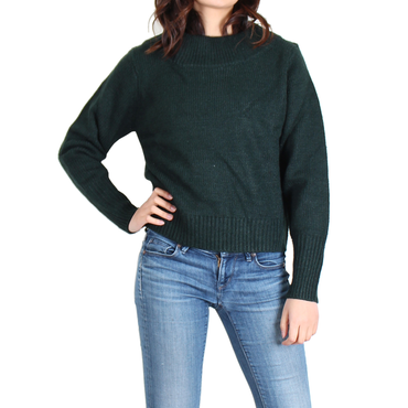 Urban Diction Olive Wide-Neck Sweater | Urban Diction | Pullovers