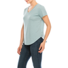 Urban Diction 3 Pack Women's Basic Solid V-Neck Short Sleeve T Shirts Regular and Plus Size - W.A.Y