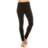 Urban Diction 2 Pack Full-Length Cotton Stretch Leggings (Black - Olive) | Urban Diction | Leggings