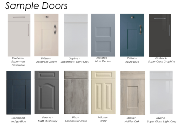 ORDER SAMPLES - Order Free Sample Doors or Vinyl Colour Swatches!