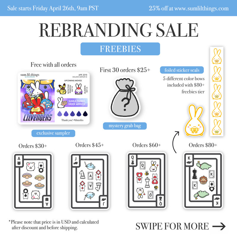 Rebranding Sale (April 26-39)