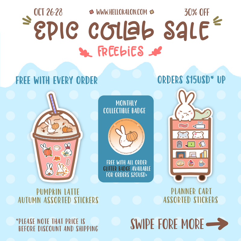 *EXPIRED* EPIC FALL SALE FREEBIES (OCT 26-28)