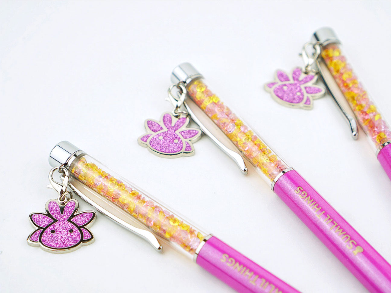 January Fairy Forest Stardust Pen with Charm