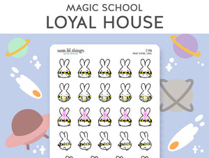 Loyal Magic House Lil Stickers(C156)