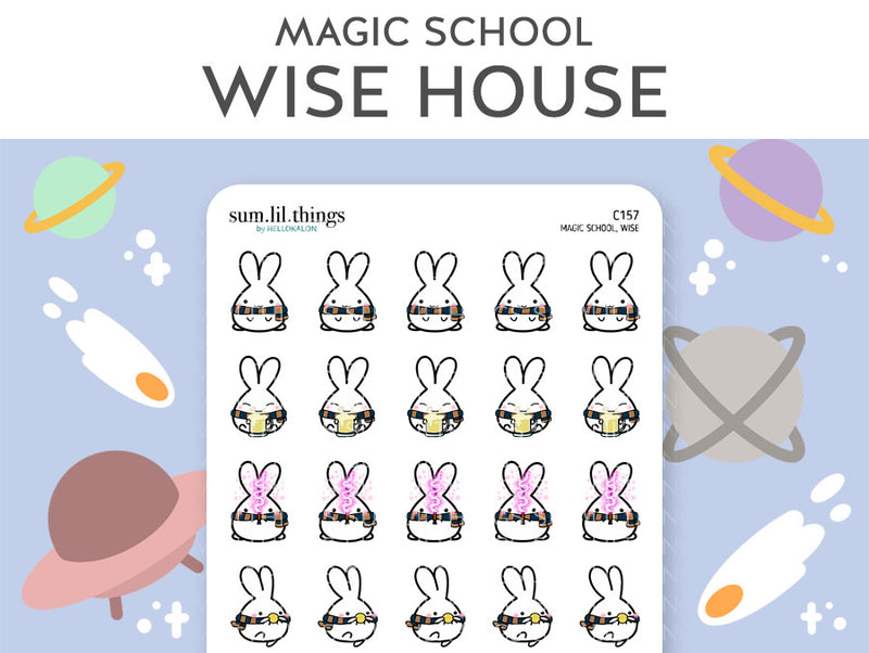 Wise Magic House Lil Stickers