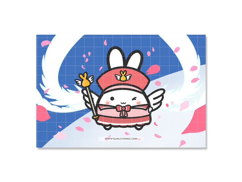 Magical Girl Journaling Card || February Subscription
