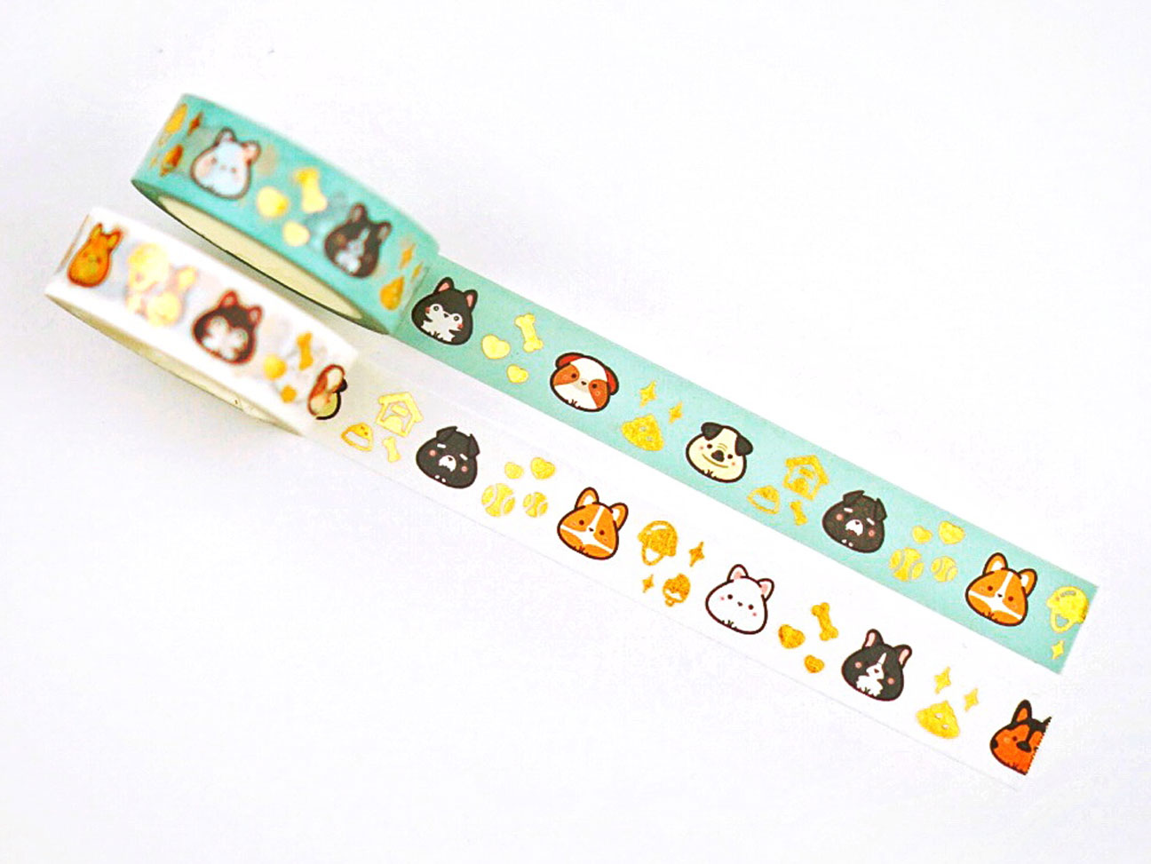 Inugiri Washi Tape - Gold Foiled (January 11 Release)