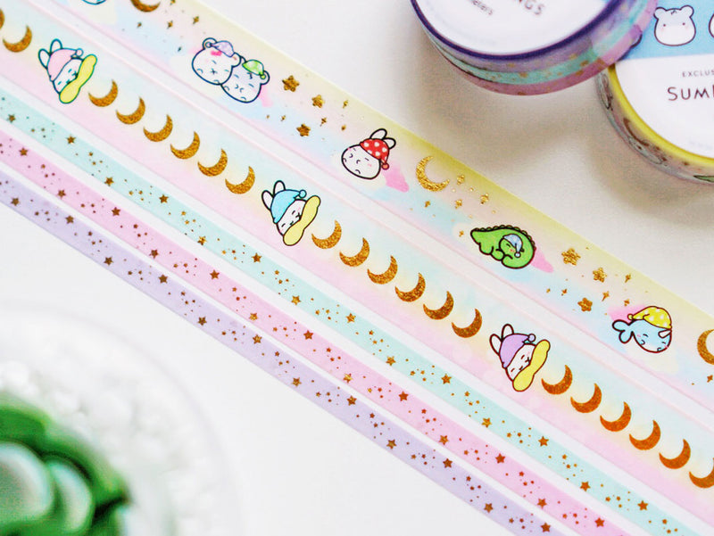Dreamland Washi Tapes - GOLD FOILED || May Subscription