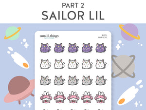 (C221) Sailor Lil Part 2 Stickers
