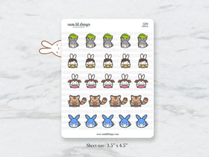 (C225) Toto'lil Stickers