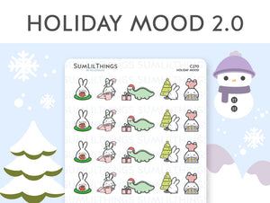 (C270) Holiday Mood 2.0 Stickers