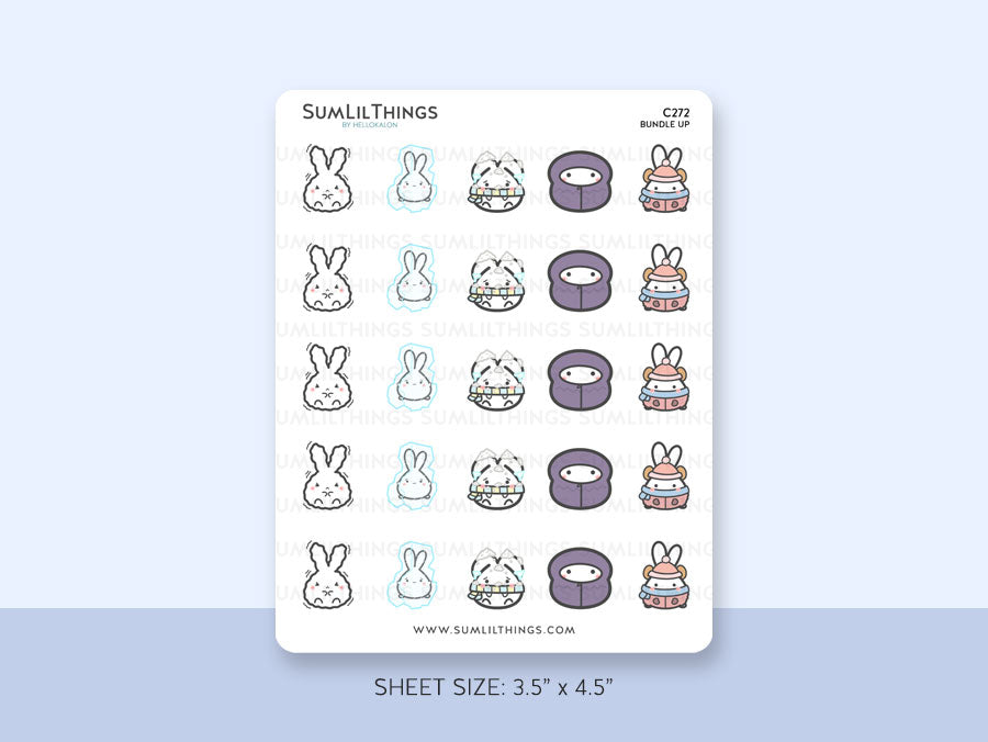 (C272) Bundle Up 2.0 Stickers