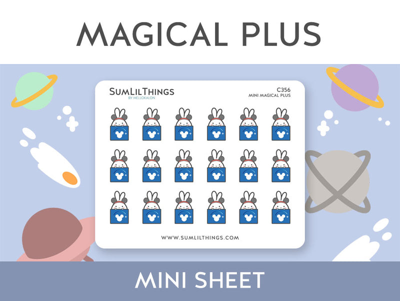 (C356) Mini Magical Plus Stickers