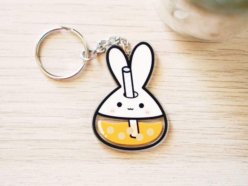 Lil' Boba Cup (Double Sided) - Acrylic Keychain