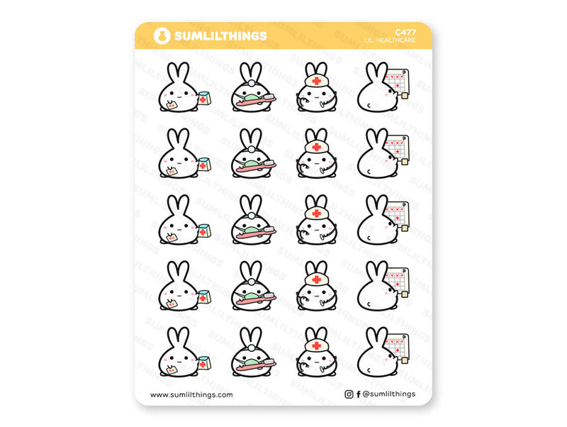 C477 - Lil' Healthcare Stickers