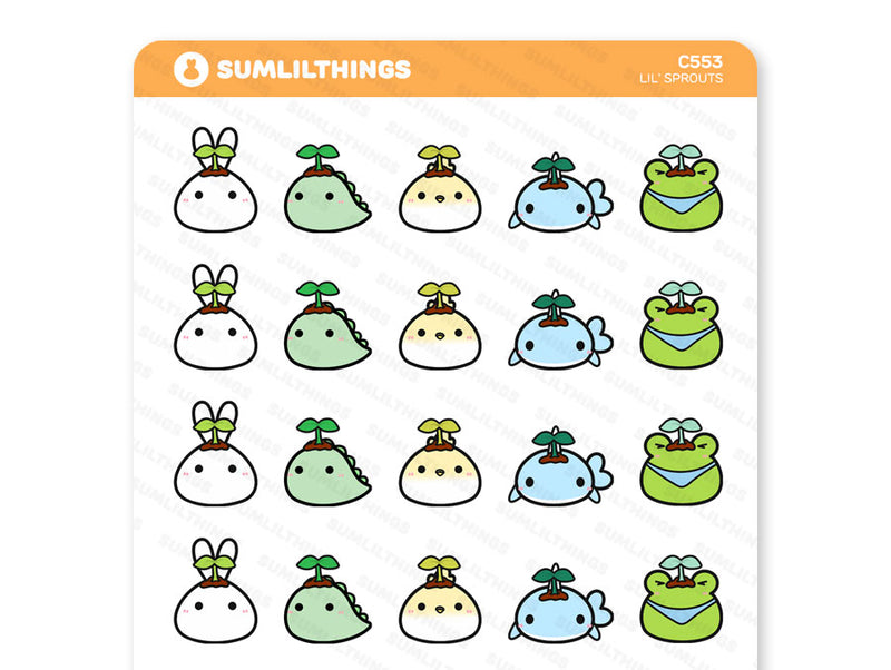 C553 - Lil' Sprouts Stickers