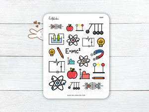 (D069) Physics Stickers