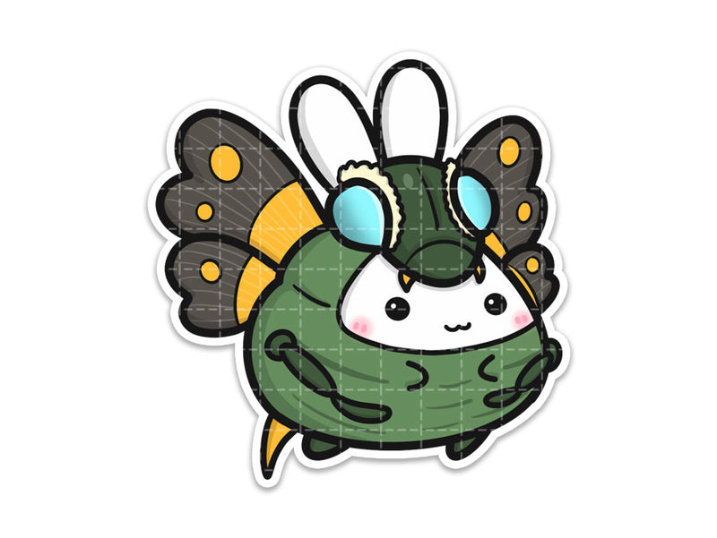 Kaiju Bug Vinyl Sticker
