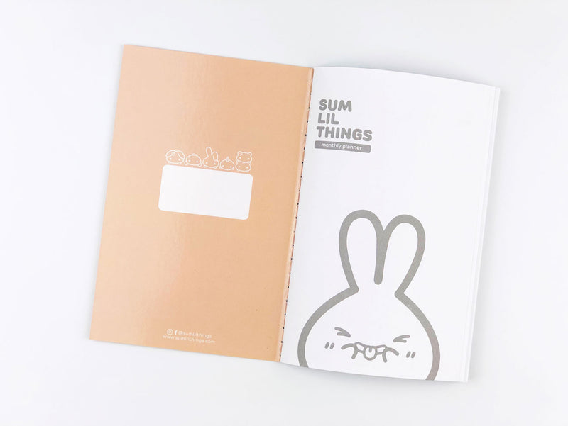 Toasted Buns - Monthly Planner - Pocket Size || August Subscription
