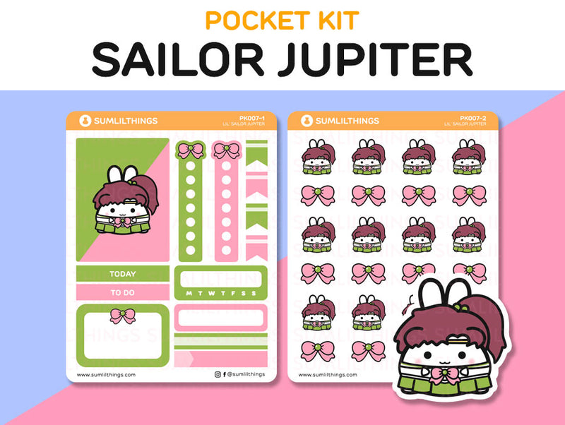 (PK007) Lil' Sailor Jupiter // Pocket Kit