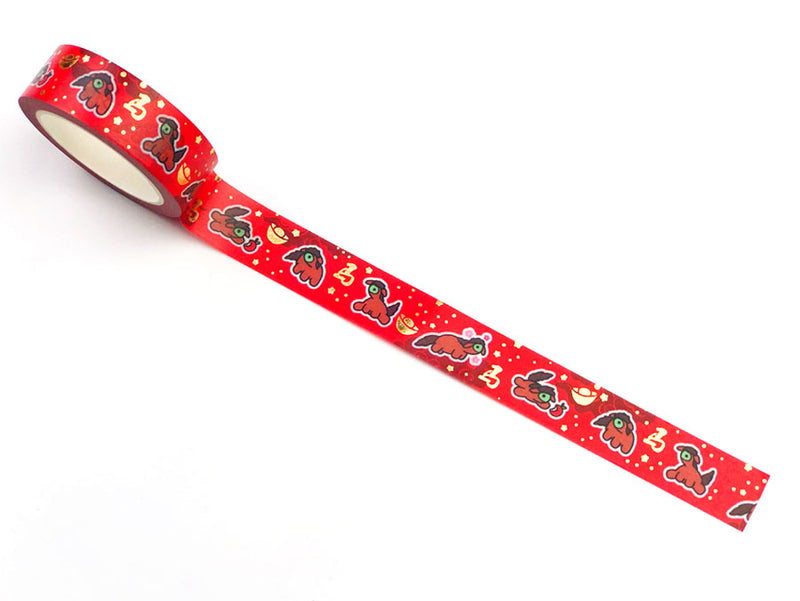 Lil' Chinese Zodiac Washi Tape (Year of the Horse) - GOLD FOILED